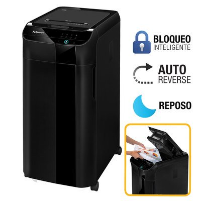 Destructora de documentos automática Fellowes Automax 350C