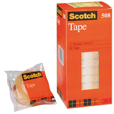 Cinta adhesiva transparente Scotch 508 508/1933 E