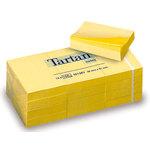 Bloc de notas adhesivas amarillas Tartan 12776